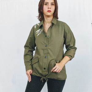 TAVIK Anthro Join Forces Embroider Utility Jacket